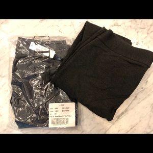 2 pairs J. Crew Maternity Pixie Pants size 6S